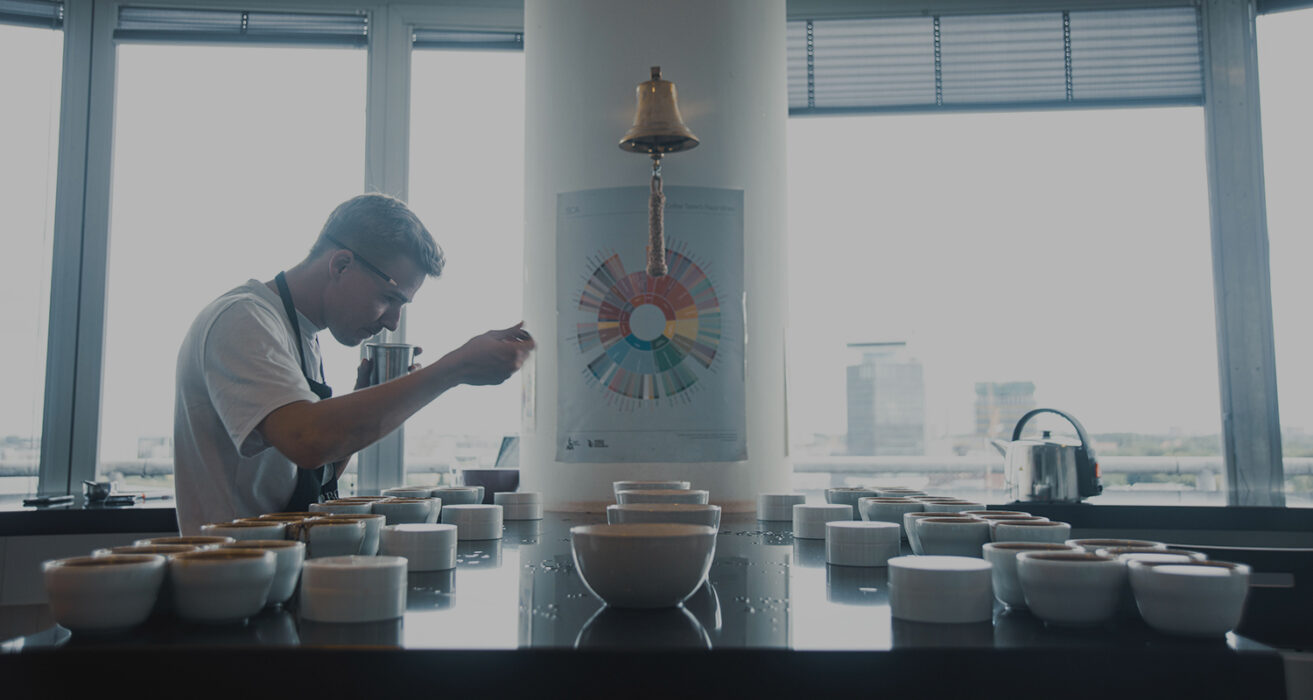 How we cup your coffees - A visual guide to the SCA cupping protocol